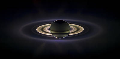 Planets Photograph - Saturn by Adam Romanowicz