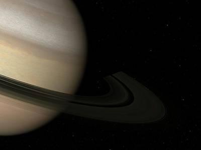 Digital Art - Saturn, Artwork by Sciepro