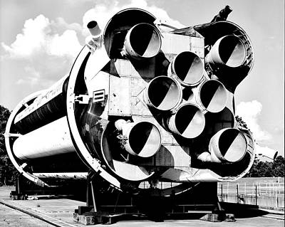 Rocket Science Photograph - Saturn I by Benjamin Yeager