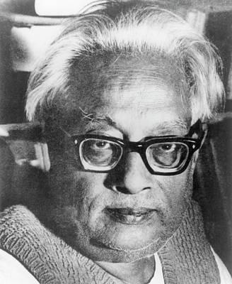 Quantum Theory Photograph - Satyendranath Bose by Emilio Segre Visual Archives/american Institute Of Physics