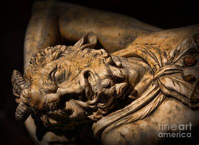 Dionysus Photograph - Satyr's Agony    -    Faun by Lee Dos Santos