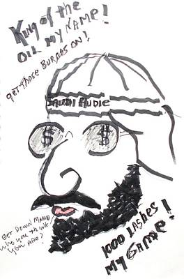 Oppression Drawing - Saudi Audie by Pg Reproductions
