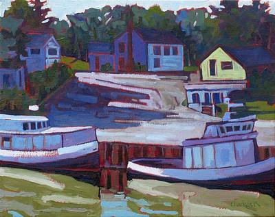 Ipap Painting - Saugeen Fleet by Phil Chadwick