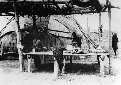 Wooden Platform Photograph - Sauk And Fox Women, C1890 by Granger