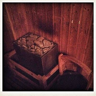 Healthy Wall Art - Photograph - Sauna Time  by Candace Fowler