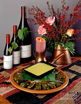 Photograph - Sausage In Grape Leaves by Craig Lovell