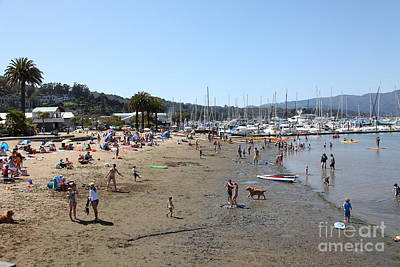 Sausalito Beach Sausalito California 5d22696 Art Print by Wingsdomain Art and Photography