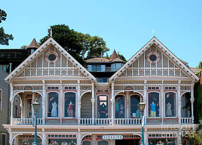 Photograph - Sausalito Boutique by Connie Fox