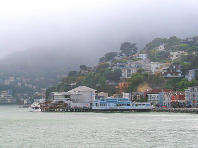 Sausalito Mists Art Print