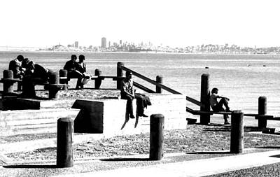 Photograph - Sausalito Silhouettes by Robert  Rodvik