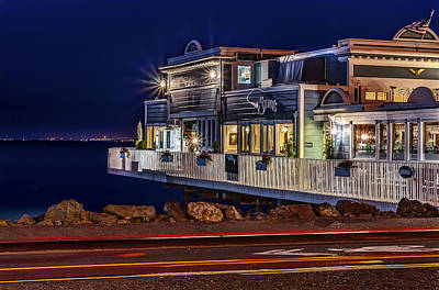 Phil Clark Photograph - Sausalito Waterfront 1 by Phil Clark