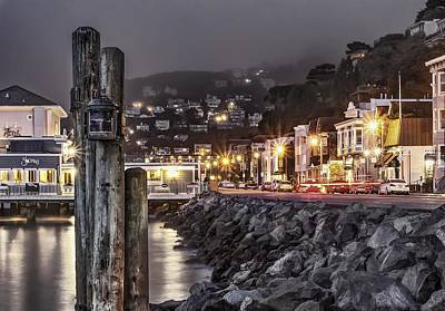 Sausalito Waterfront 2 Art Print by Phil Clark