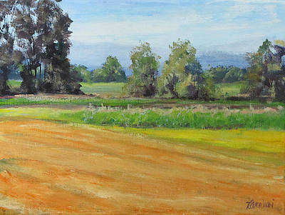 Painting - Sauvie Island by Karen Ilari