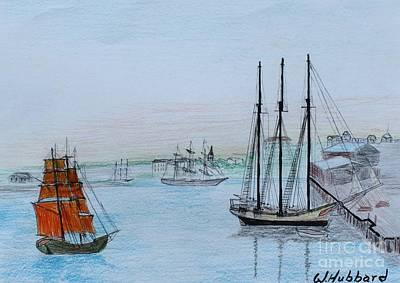Savannah 1777 Original by Bill Hubbard