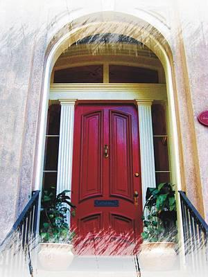 Photograph - Savannah Arched Entry by Joe Duket
