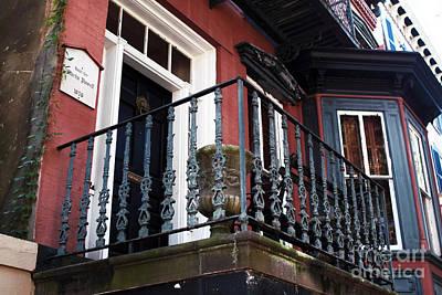 Photograph - Savannah Balcony by John Rizzuto