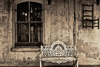 Photograph - Savannah Bench by John McGraw