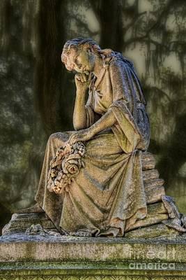 Savannah Bonaventure Cemetery Art Print by Henry Kowalski