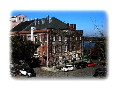 Photograph - Savannah Chart House Restaurant by Jacqueline M Lewis