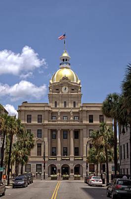 Photograph - Savannah City Hall by Greg and Chrystal Mimbs