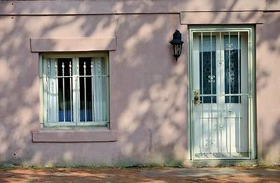 Door Photograph - Savannah Door And Window by Steven Richman