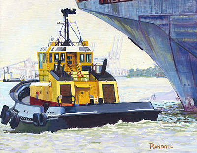 Painting - Savannah Escort by David Randall