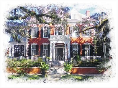 Photograph - Savannah Estate by Joe Duket
