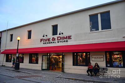 Photograph - Savannah Five And Dime by Bob Sample