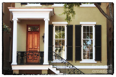 Photograph - Savannah House by John Rizzuto