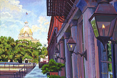 Painting - Savannah Morning by David Randall