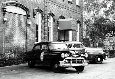 Photograph - Savannah Police Station by John Rizzuto