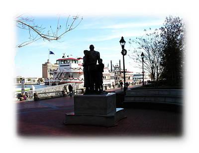 Photograph - Savannah Port Scene by Jacqueline M Lewis