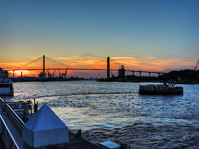 Photograph - Savannah River 001 by Lance Vaughn