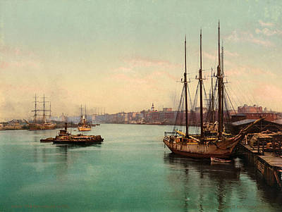 Painting - Savannah River, C1900 by Granger