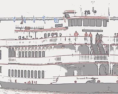 Savannah River Queen Cruising Original