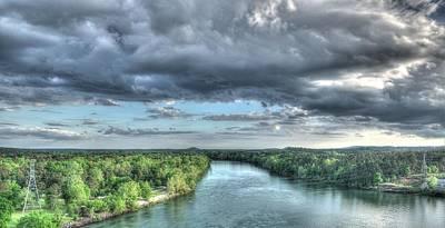 Clarks Hill Lake Photograph - Savannah River Valley by Todd Bennett