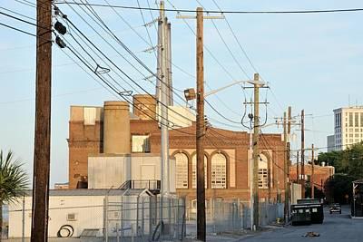 Photograph - Savannah Riverside Electric Plant  by Bradford Martin