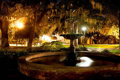 Photograph - Savannah Romance by Renee Sullivan