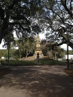 Savannah Parks Gardens Photograph - Savannah Secrets by Hunter