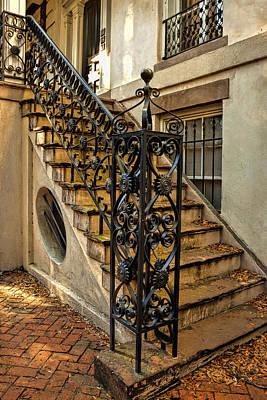 Savannah Staircase Art Print by Diana Powell