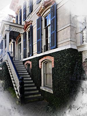 Photograph - Savannah Staircase by Joe Duket