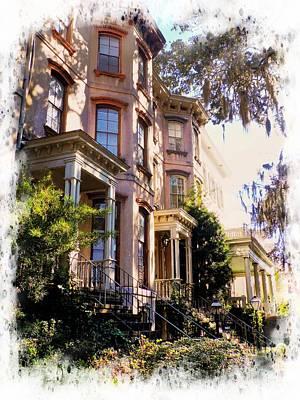 Photograph - Savannah Streetscape by Joe Duket