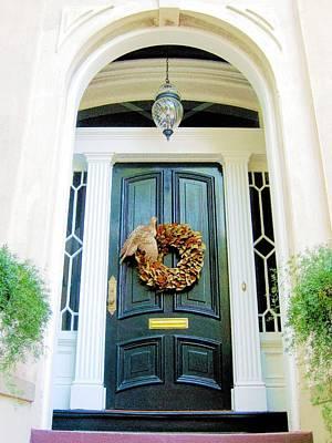 Photograph - Savannah Wreath by Joe Duket
