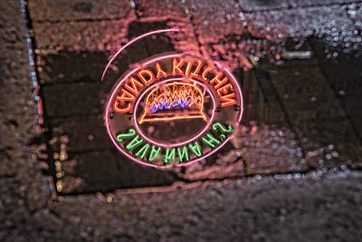Nashville Sign Photograph - Savannah's Candy Kitchen by Rick Berk