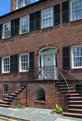Photograph - Savannah's Davenport House by Greg and Chrystal Mimbs