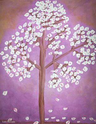 Painting - Savanna's Tree by Lora Mercado