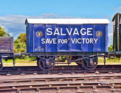 Photograph - Save For Victory by Paul Gulliver