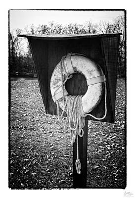 Black Ring Photograph - Save Me - Art Unexpected by Tom Mc Nemar