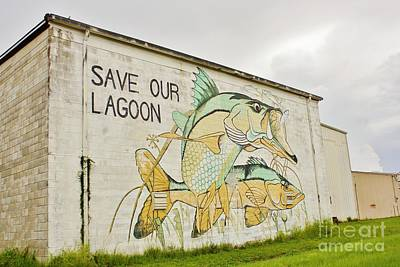 Photograph - Save Our Lagoon by Lynda Dawson-Youngclaus