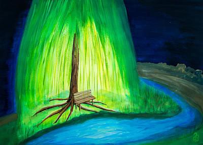 Painting - Save Spot by Jutta B